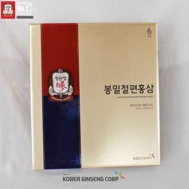 Hồng sâm lát tẩm mật ong Cheong Kwan Jang Hàn Quốc 20g x 12 gói