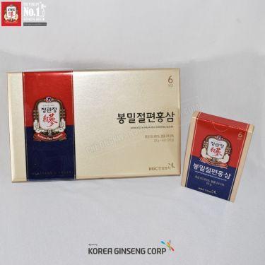 Hồng sâm lát tẩm mật ong Cheong Kwan Jang Hàn Quốc 20g x 6 gói