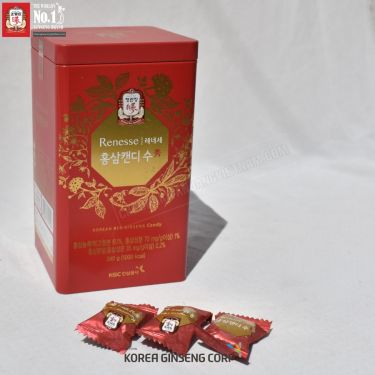 Kẹo hồng sâm có đường Cheong Kwan Jang Hàn Quốc 240g